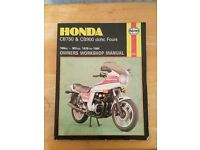 Honda Cb750 & Cb 900 Dohc Fours Haynes Manual