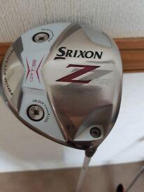 SRIXON Z525 DRIVER 9.5 R/H FITTED WITH FUBUKI FLEX-S 63 X5CT MIST SHAFT