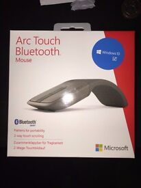 Microsoft Arc Touch Bluetooth Mouse (Grey)