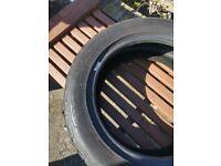Dunlop SP tyre 205 55 16 91v rated