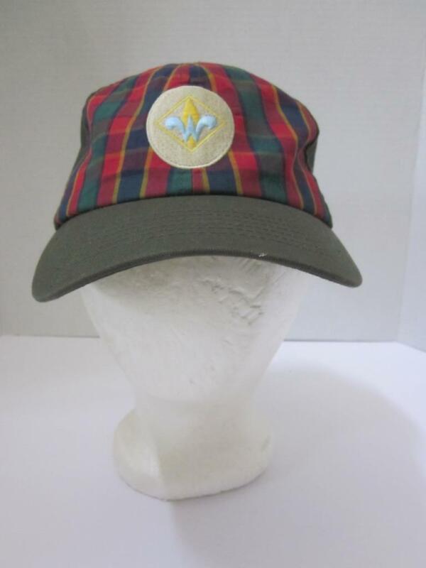 BOYS SCOUTS OF AMERICA BSA Weeblo Adjustable Uniform Baseball Hat Cap Sz M L