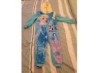 Frozen onesie age 3-4