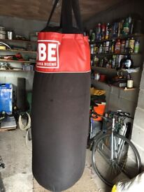 Good punch bag available .£15. Collection only