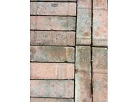 Paving bricks . 40 pence each