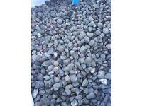 Decorative beach pebbles chippings bulk bags garden