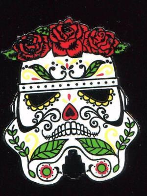 Star Wars Stormtrooper Skull Day Of The Dead Disney Pin 122468