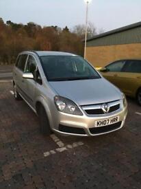 Vauxhall Zafira life 1.6 2007