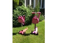 Pink Micro Scooters - Mini and Maxi - see ad for prices