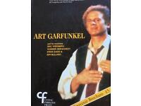 Art garfunkel concert program hand signed by Eric weissberg