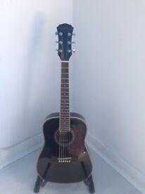 Freshman Electro Acoustic half size/travel Guitar