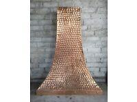 Price redcued - Hand beaten copper canopy