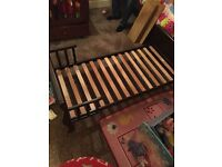 Toddler Sleigh Bed, Excellent Condition