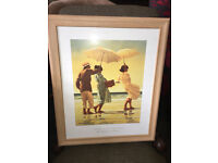 """Lovely Framed Jack Vettriano Print of """"The Picnic Party"""" 48cm x 58cm"""