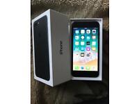 iPhone 7 plus 256GB boxed factory unlocked matte black