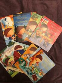 Harry and the Dinosaurs books x 8