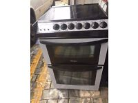 Tricity bendix SILVER/BLACK 55cm ELECTRIC COOKER, 4 MONTHS WARRANTY, FREE LOCAL DELIVERY