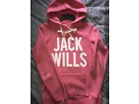 Jack wills hoodies size 10 UK