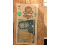 Rare AK47 496328 Note for sale