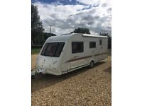 Elddis Odyssey 524L Touring Caravan 4 Berth