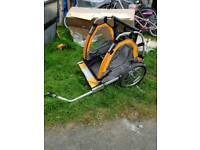 Childs bike trailer