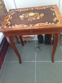 Small ornate table