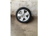 Set of x4 Vw Passat Audi alloy wheels