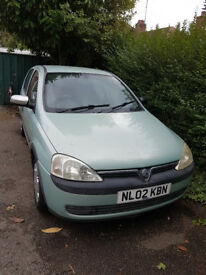 Vauxhall Corsa C 1.2 Easytronic. Clutch slipping, requires work.