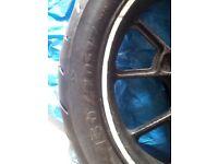 Rear Motorcycle Wheel - ( 150-17 Tubeless )