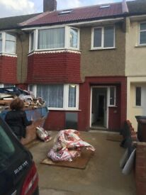 5 Bedroom house with 2 bathrooms to let in Dagenham !