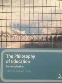 Philosophy of Education 2011