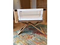 Bednest bedside crib in excellent condition