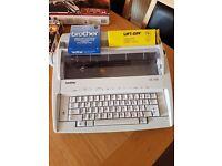 Brother. Electric Typewriter