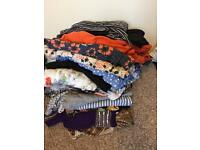 Pile of maternity clothes 10/12