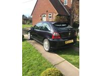 MG ZR Black 54 Reg