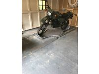 Motorbike Turn table