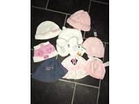 Babygirl hats
