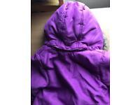 12-18m John Lewis girls coat