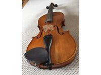 Violin - Harald Lorenz 4/4 violin, Czech Republic, 2006 - £700