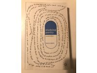 Studying Poetry, Second Edition. Barry Spurr