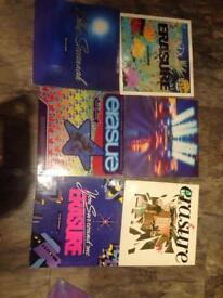 Erasure vinyl records