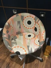 ikea swivel chair for sale excellent condition hardly been used
