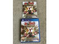Worms battlegrounds ps4 game ( PlayStation 4 games )