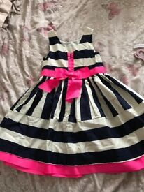 Girls party dress age 4-5 years