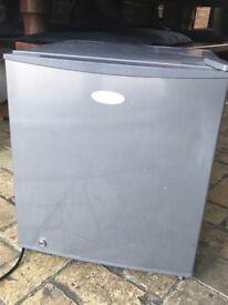 Small countertop fridge