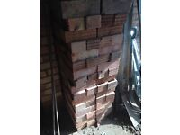 Free facing bricks approx 80.