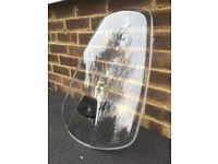 Weeride Windscreen/Windshield for Child's Bike Seat