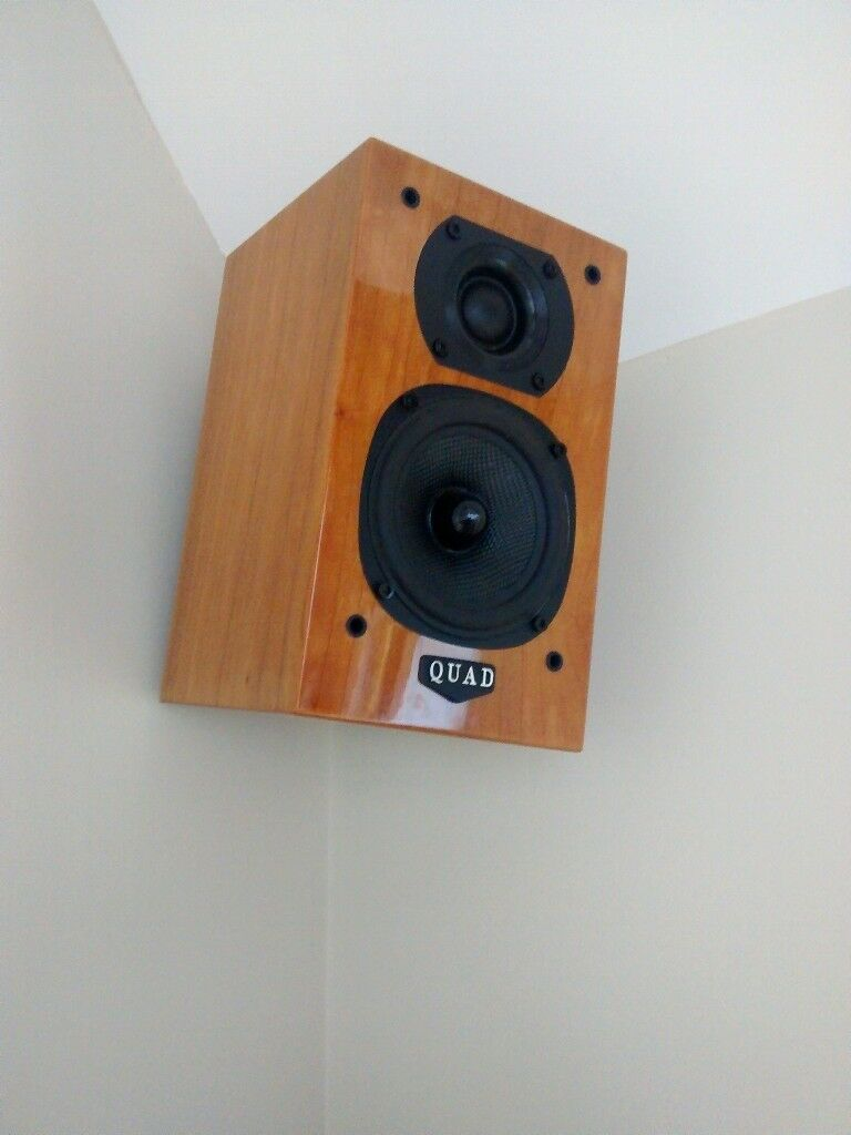 Quad Lite Speakers - Cherry Gloss | in Lutterworth, Leicestershire | Gumtree
