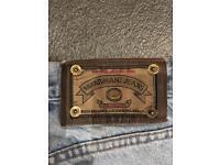 Armani Classic light blue jeans