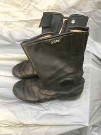 Motorcycle Boots Trident Classic Italian leather size 43