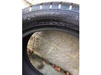 4 x winter tyres 205x50x17
